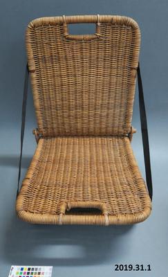 Folding chair; 1930s; 33085