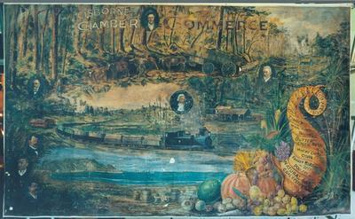 Chamber of Commerce Banner 1900; 1900; 4132