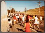 Crowd of runners