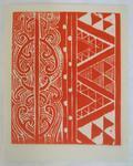 Print, Linocut print, Greeting card